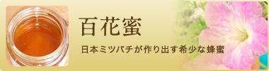 百花蜜 日本ミツバチが作り出す希少な蜂蜜